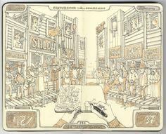 Mattias Inks: June 2012-- Great Sketchbook artist