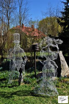 Shculptures for garden,Hanna Kontturi Arch, Outdoor Structures, Bird, Garden, Outdoor Decor, Home Decor, Longbow, Garten, Decoration Home