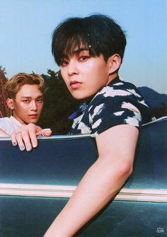 #EXO #엑소 #thewar #albumscan #kokobob #chen #xiumin
