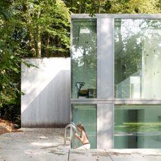Charme do aço, concreto e vidro :)