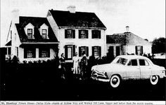 Dallas, Texas. 5423 Walnut Hill Lane. Melvyn Douglas made an appearance at the Dallas house - an empty lot in 2015. Details at the great Flashback Dallas site-https://flashbackdallas.com/2014/03/02/mr-blandings-preston-hollow/