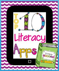 I thought I'd add my Top 10 Literacy Apps. I love using apps to give my students extra practice because it is so motivating for them.