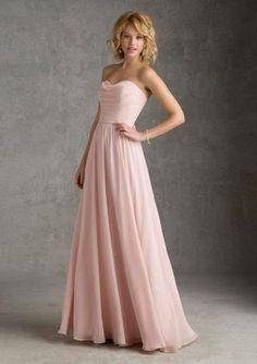 a384adf2f742 strpless Bridesmaid Dresses Wedding Party Dresses