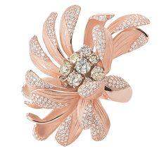Когда речь заходит о временах года, не возникает сомнений, что осень – самая вдохновляющая пора. Это время, когда природа обретает новые краски и распускаются хризантемы. И, так же, это особый период для нашего ювелирного дома. Ведь именно осень – главная муза таких аксессуаров, как это кольцо из розового золота. Это женское кольцо с бриллиантами – жемчужина нашей коллекции Daisy, олицетворяющая завораживающую красоту поры, когда распускаются хризантемы.