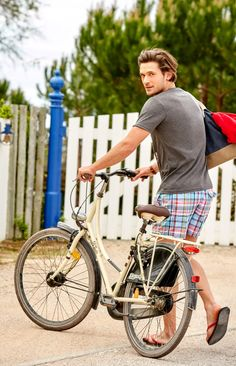 Ride my bike.