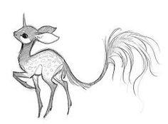 Image result for fantasy creatures pencil sketch