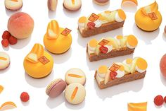 フレデリック・カッセルの新作スイーツ、桃を堪能するタルトやマカロン