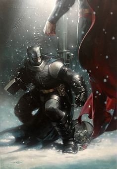 The Dark Knight III #4 Bulletproof Exclusive variant cover by Gabriele Dell'Otto *