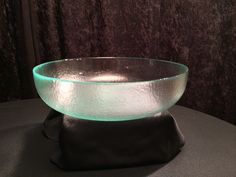 Recycled Glass Serving Bowl Available to Rent! www.gycrentals.com