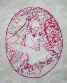 Flappers Iron on Hand Embroidery Pattern by SewLovelyEmbroidery, $8.00