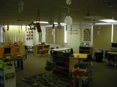 Pre-K classroom set up