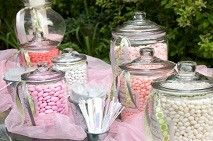 add a candy buffet to your rehearsal dinner.. here's how