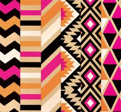 look at this southwest wrapping paper! {shriek!} it's so good!