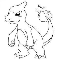 Beautiful Charmander Coloring Pages 68 Charmander Coloring Sheets Charmander Coloring Page