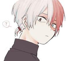 Ahhhh look at his tiny ponytail . I'm dead   Anime : boku no hero academia // my hero academia