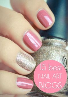 Check out the 15 best nail art blogs!   Photo via Pshiiit