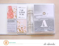 Journalling with easy Project Life sleeves