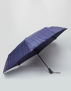 Find the best selection of Fulton Open & Close Umbrella Navy Check. Shop today with free delivery and returns (Ts&Cs apply) with ASOS! Fulton Umbrella, Umbrella Man, Blue Umbrella, Black Luxury, Check Printing, Luxury Handbags, Proenza Schouler, Best Brand, Sun Lounger