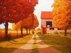 Adam Noonan - Canadian Plein Air Painter ~ Remember September