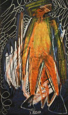 """Einer von vielen"" Johannes Fuska Johannes, Painting, Art, Kunst, Art Background, Painting Art, Paintings, Performing Arts, Painted Canvas"