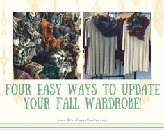 Easy ways to update your wardrobe without spending a ton!