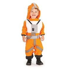 X-Wing Fighter Pilot Toddler Costume