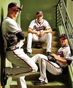 3 closers from Atlanta Braves Eric O. , Craig K. & Jonny V.!!! I met Craig:)