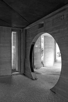 """Tomba Brion - Carlo Scarpa.  """"I would like this as an entry/portal from a home librar,y secondary parlor or a formal dinning space, to a solarium or inner courtyard."""" P"""