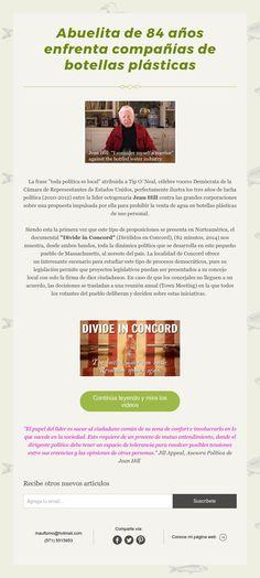 Nuevo artículo sobre campañas política pro-ecologistas y medio ambiente.