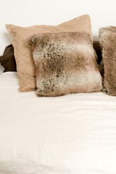 Fur Pillows and Totes @ ehow.com