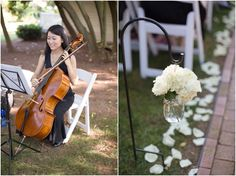 Details from a beautiful summer ceremony. Boxwood Garden, Brick Pathway, Willow Grove, Giant Tree, Pathways, Bed And Breakfast, Shrubs, Florals, Amy