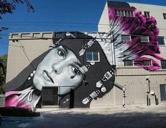 RT GoogleStreetArt: New Street Art by Drew Merritt found in Sacramento…
