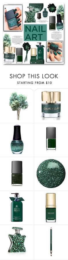 """Green With Envy: Wintery Nail Polish"" by jelenalazarevicpo ❤ liked on Polyvore featuring beauty, SpaRitual, NARS Cosmetics, Marc Jacobs, Zoya, Molton Brown, Dolce&Gabbana, Bond No. 9, Clarins and Deborah Lippmann"