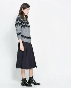 Jacquard Sweater on shopstyle.com