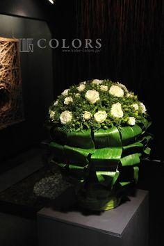 カラーズのウィンドウディスプレイの画像 | 神戸の花屋カラーズ 隊長 國安のブログ