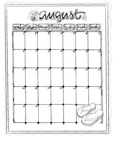 Hope you all enjoy these Calendar Coloring Pages! More coming in the months ahead:)