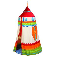 teepee indoor play tent by nic nac noo | notonthehighstreet.com