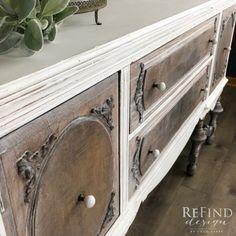 Paint Furniture, Home Decor Furniture, Furniture Projects, Furniture Making, Furniture Makeover, Hutch Makeover, Dresser Makeovers, Furniture Design, Farmhouse Buffet