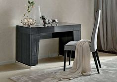 ALF St Moritz Dressing Table Modern Dressing Table With Integral Storage  Crafted From Solid Wood With