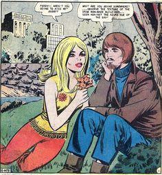 "saucerfulofregrets: "" Kiss her, you hippy drip! """