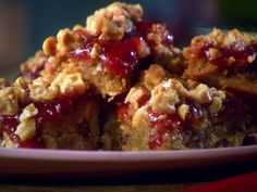 Sunny's Pantry Bars recipe from Sunny Anderson via Food Network