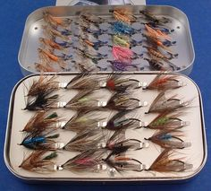 I love to tye and fish classic spey flies for salmon and steelies.