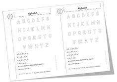 Poèmes alphabets, lettres et voyelles