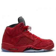 Air Jordan 5 Retro-University Red Black
