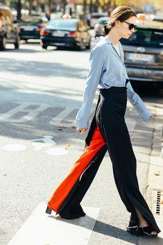 Tommy Ton Street-Style Photos - Spring 2015 Fashion Shows - Vogue Fashion Jobs, New York Fashion, Paris Fashion, Fashion Photo, Fashion Details, Style Fashion, Spring Street Style, Street Chic, Street Wear