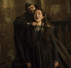 Catelyn Stark- The Red Wedding- Game of Thrones, season 3, episode 9