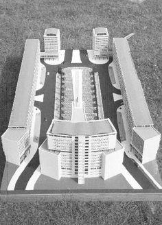 Projecto Praça do Martim Moniz (LIsboa) - Arqt.ºs João Guilherme Faria da Costa e Jorge Costa Maia