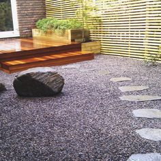 Our Slate Chippings are a very cost-effective way to fill little gaps or mulch large areas of your garden. per tonne Slate Garden, Slate Patio, Gravel Garden, Garden Bed, Modern Landscape Design, Landscape Plans, Contemporary Landscape, Sloped Landscape, Gravel Landscaping