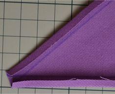 指が入れられないような狭いところの角を綺麗に出す方法 Outdoor Blanket