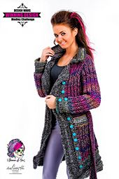 Ravelry: Braided Glam Peacoat pattern by Glamour4You